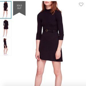 FREE PEOPLE French Girl Sweater Minidress dress